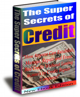Product picture The Super Secrets of Credit! eBook new release (MRR)