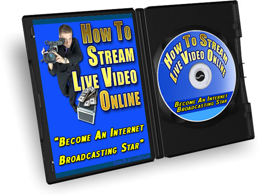 Product picture How To Stream Live Video, Video Tutorial with MRR
