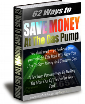 Product picture How To Save Money And Conserve Gas!  New Release eBook (MRR)